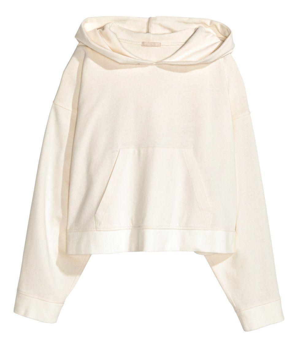 Oversize-huppari   Luonnonvalkoinen   Naiset   H&M FI
