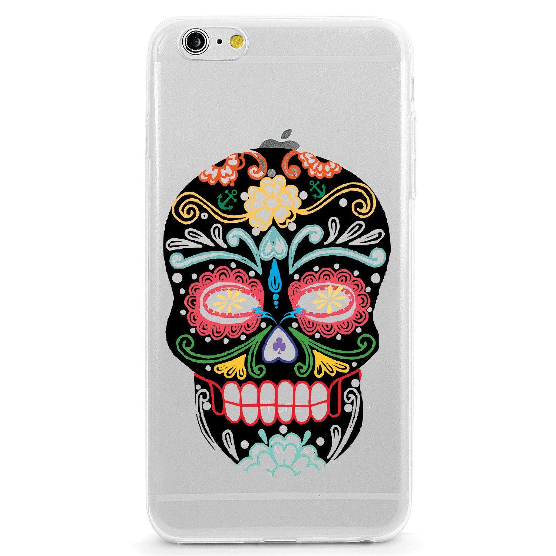 Colorful Sugar Death Skull