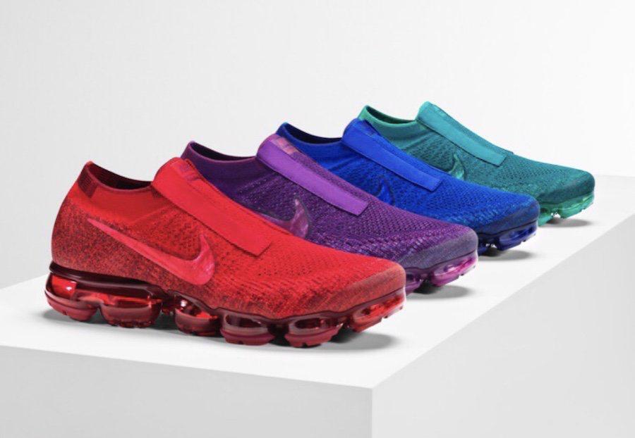 Nike Air VaporMax 'Jewel Pack' Releases December 7th sneakerscartel.com/nike -