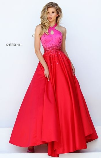 Hot Pink to Flaming Red Sherri HIll 2016 collection #50275 | 2018 ...