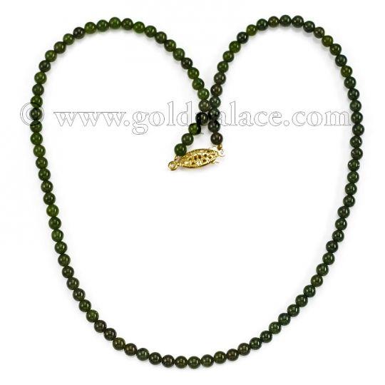 Jade Necklace 17 5 Inches Jade Necklace Necklace Jade