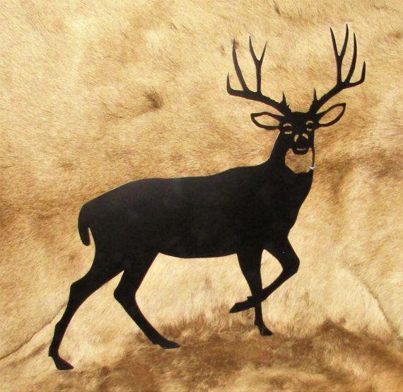 Mule Deer Deer Sportsman Hunter Metal Art by BlueMesaMetalArts ...