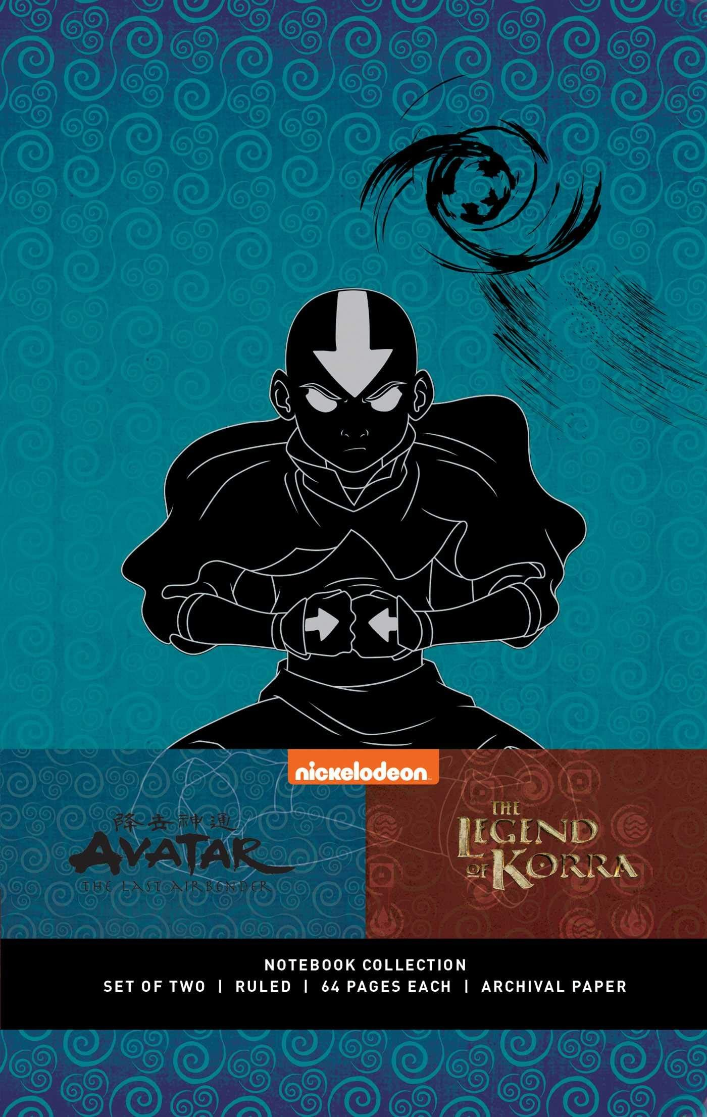 Avatar The Last Airbender Legend Of Korra Notebook Collection