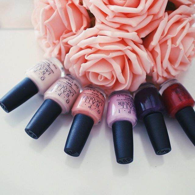 Wake up and smell the roses! The #OPIVenice colors are must-haves for fall. RG: @alittletoooften