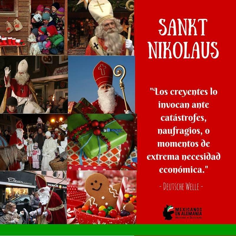 #NikolausTag #SanNicolas #Navidad #MexicanosEnAlemania