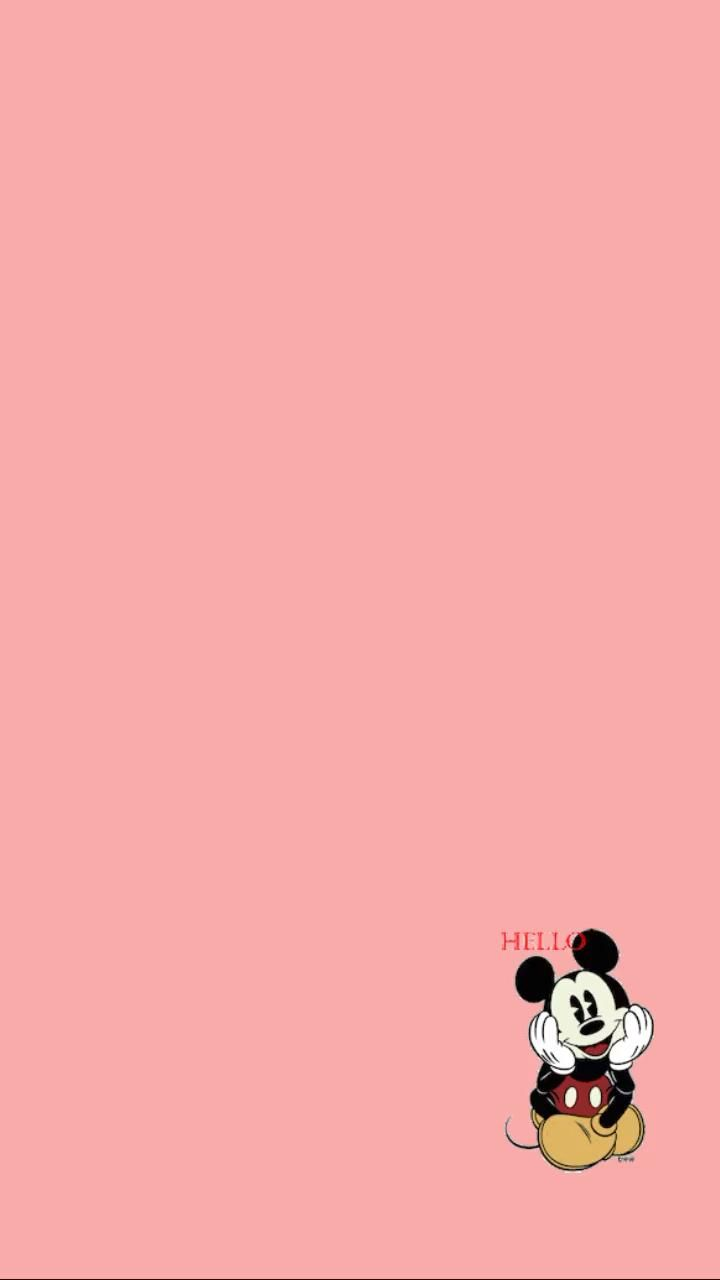 Templates + Gifs Fofos  - Mickey sentado | Carina Brandão Stories 💜