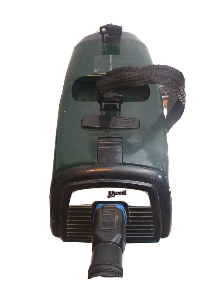 Pin on canister vacuum