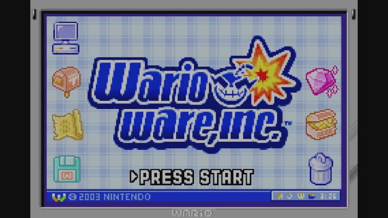 Wario Ware Inc Wii U VC gameplay [Wii U eShop]