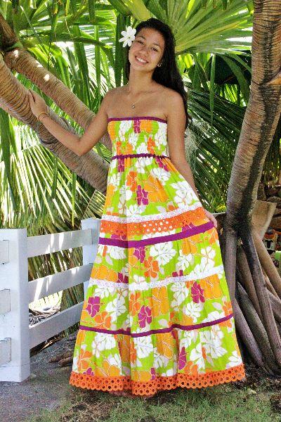 Les plus belles robes tahitiennes