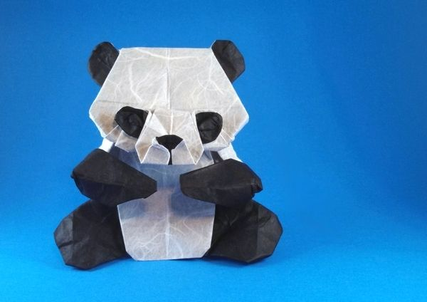 Origami Panda By Marc Kirschenbaum Folded By Gilad Aharoni Origami