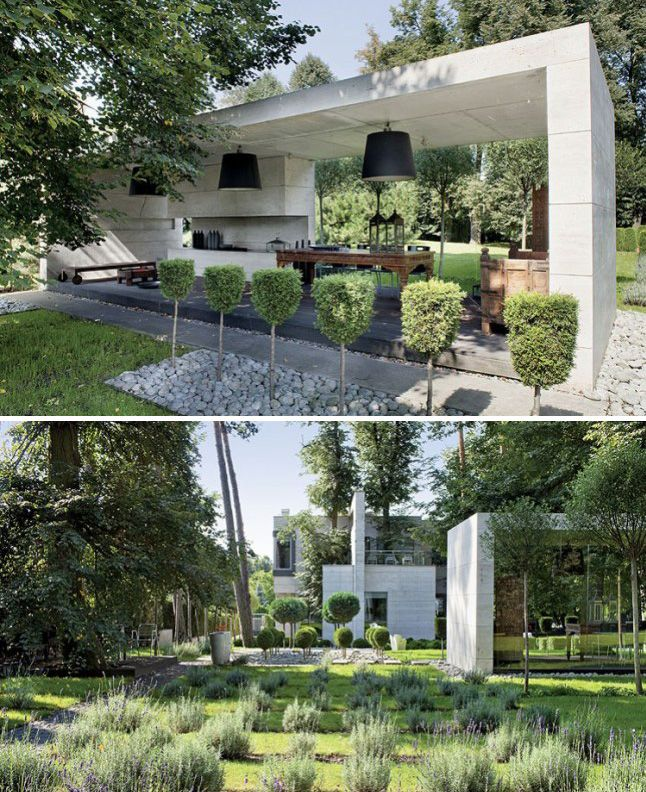 Contemporary Landscapes Modern Gardens Inspiration For Spring Modern Garden Contemporary Landscape Contemporary Garden Design