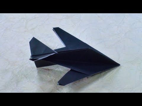Provato Origami Stealth Fighter Instructions Robert J