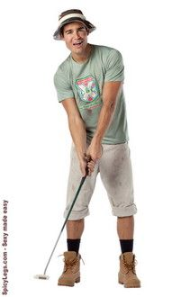 Caddyshack - Carl Spackler Adult Costume $37.40 | Men Costumes ...