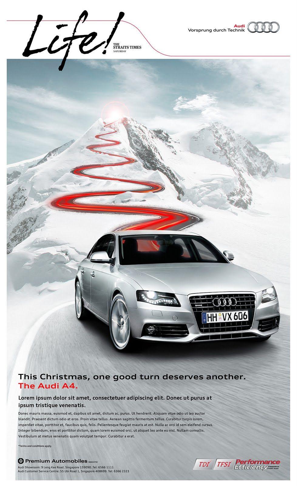 Car Advertisement Poster Design