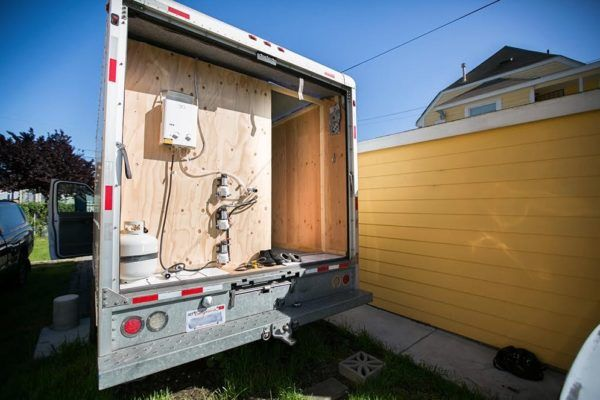 Urban Stealth Uhaul Conversion Box Truck Tiny House For Sale Truck Camper Truck Campers For Sale Tiny Houses For Sale