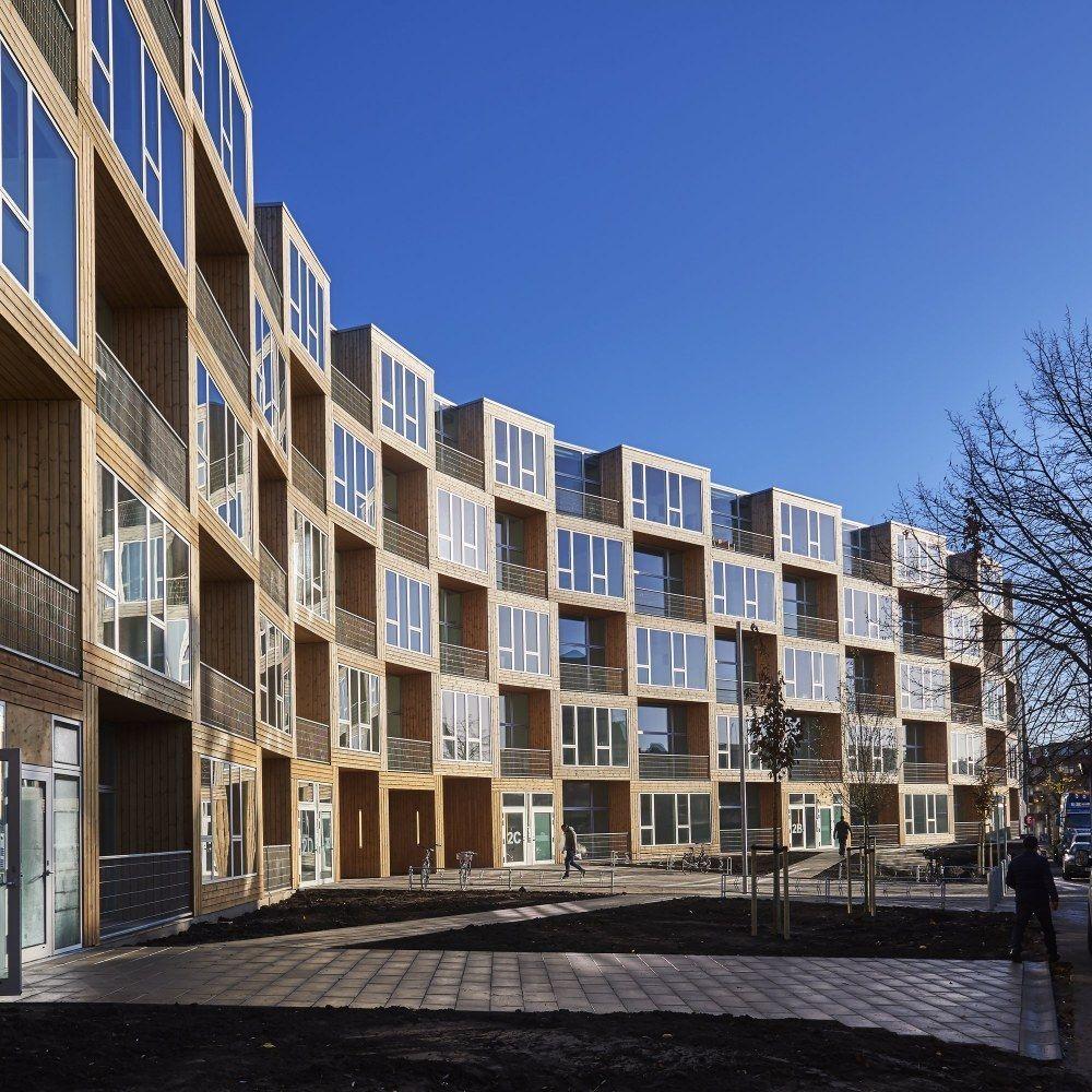 Big Apartments: BIG: Frederiksborgvej 73 Housing . Copenhagen Photo