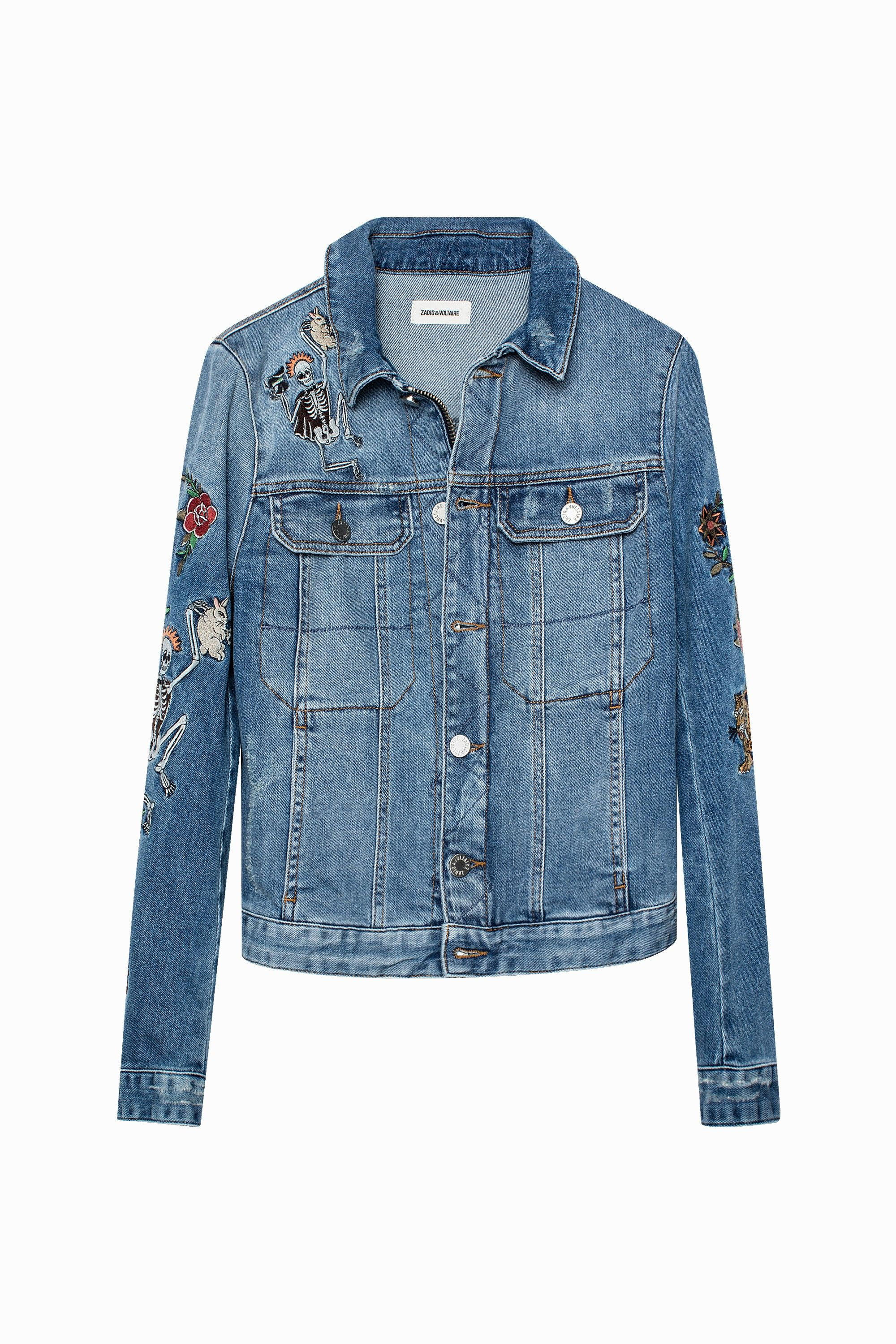 635e3032 Kioky Embroidered Jacket | Zadig & Voltaire | My Style | Embroidered ...