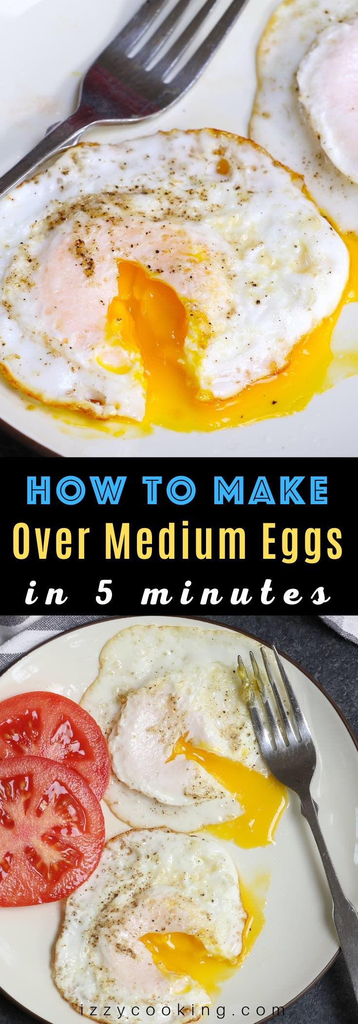 Easy Over Medium Eggs Recipe In 2020 Food Recipes Quick Easy Meals