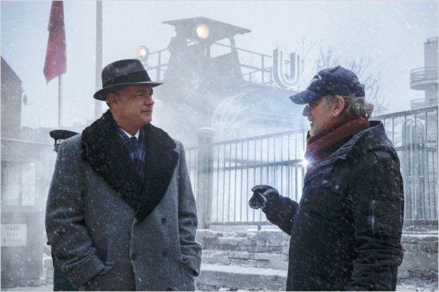 Le Pont Des Espions Photo Steven Spielberg Tom Hanks