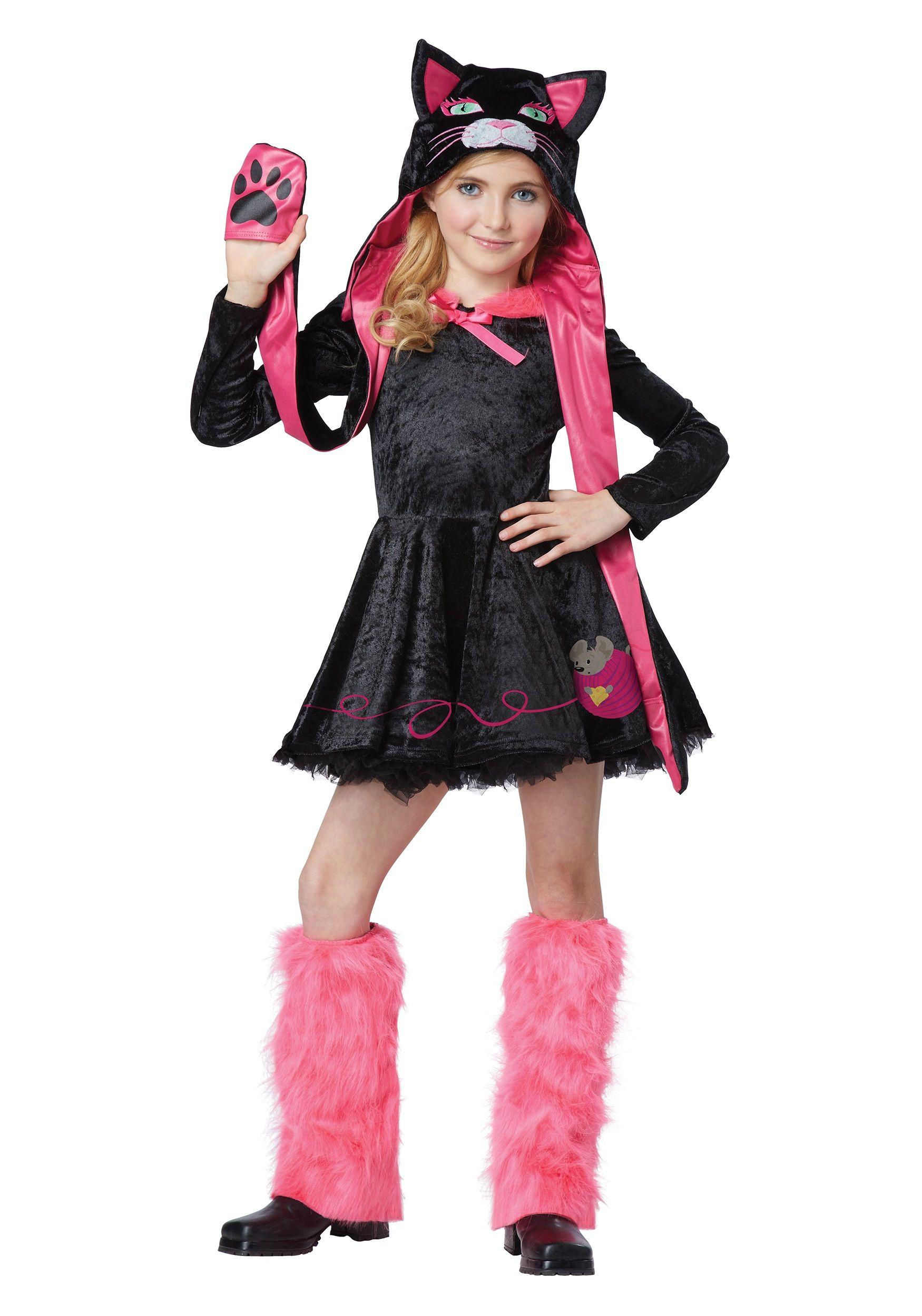 Halloween Costumes Near Here.Girls Sassy Cat Costume Cat Girl Costume Costume Craze Cute Halloween Costumes
