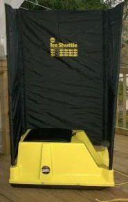 PVC Ice Shelter | Frabill Ice Shuttle | Ice fishing | Ice fishing