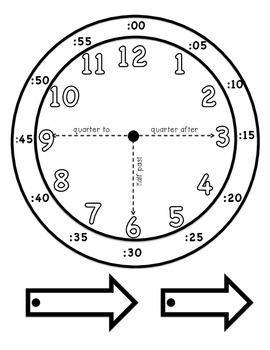 Learning To Tell Time Hands On Matematica Per Bambini