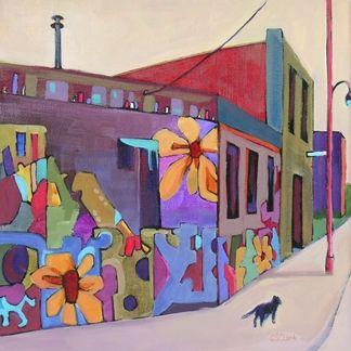 """Graffiti on 16th"" -  by Carolee Clark"