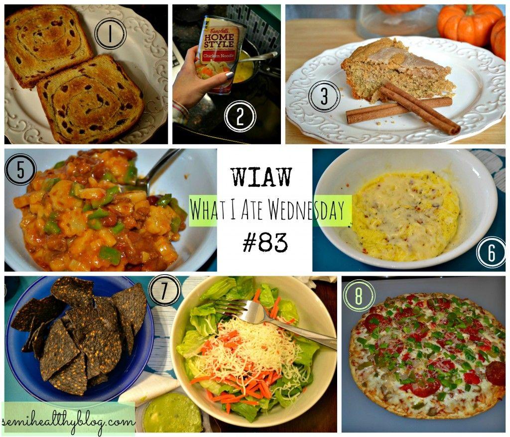 "WIAW #83 ""Food Blogger?"""