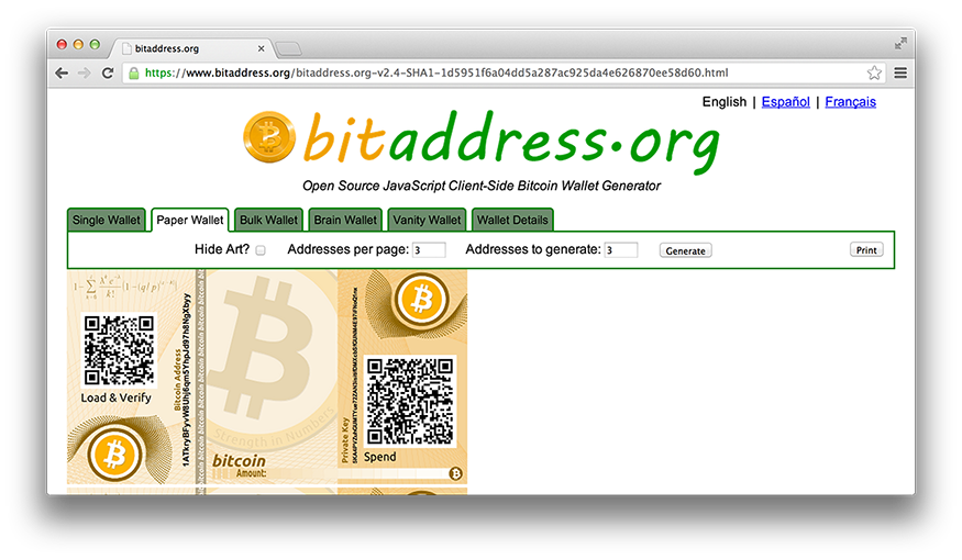 how to make a paper wallet cryptocurrency