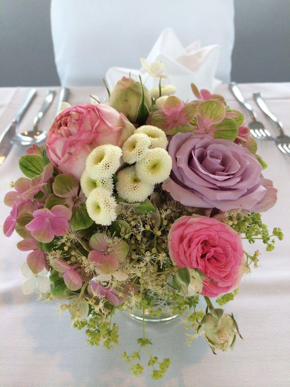 rosa Blumenmix