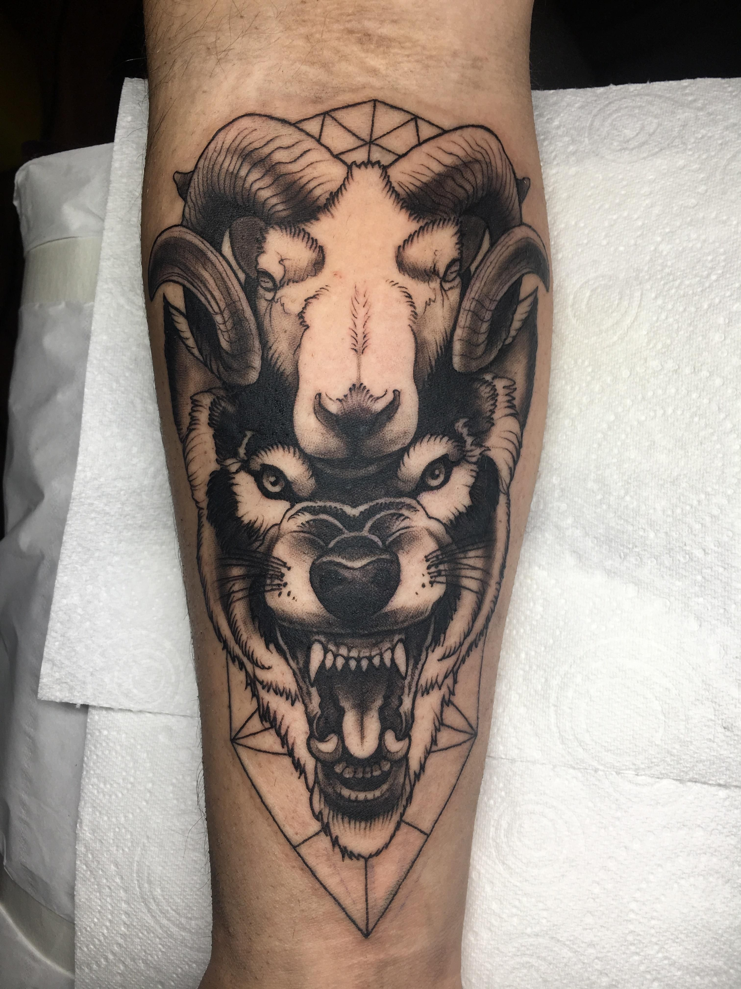 1281 Points And 30 Comments So Far On Reddit Wolf Tattoos Nerd Tattoo Body Art Tattoos