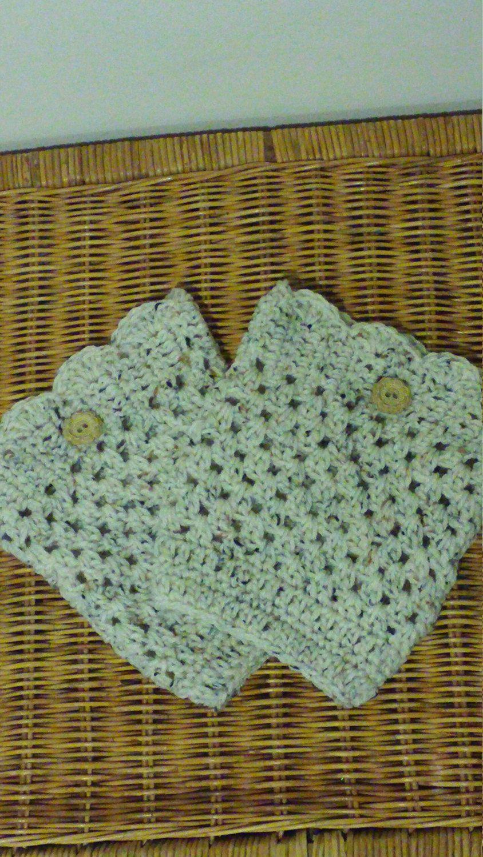 Woman Boot Cuffs by CrochetingByBecca on Etsy