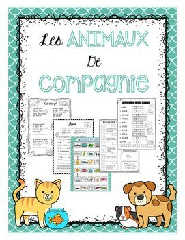 French Pets unit great for immersion or FSL classrooms.This unit has activities for all four strands of the new French curriculum.- Vocabulary page- Puzzles/ word search- J'ai, Qui a - Board game (vocabulary based)- Test and quizzes for all strands- Foldable booklet and blank template- technology links- Draw what you read- Presenting project- oral activities- worksheets to practice numbers and avoir and much more.