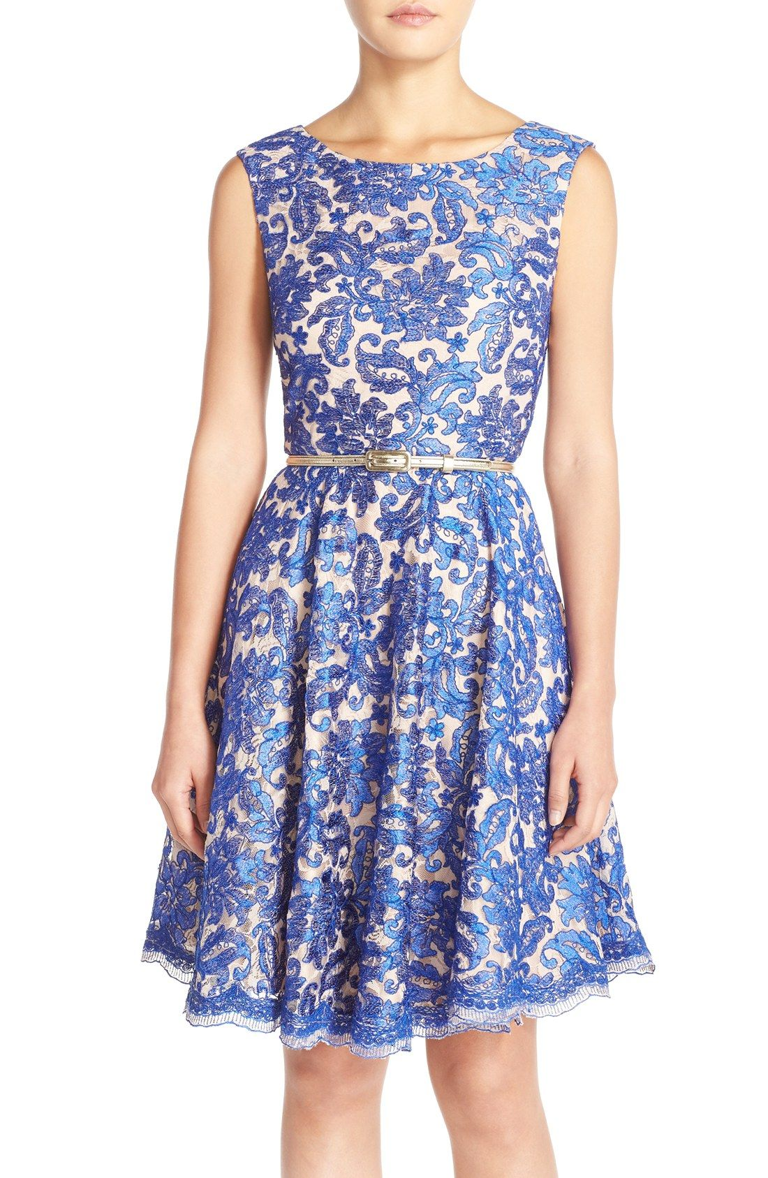 Nordstrom is selling the same dress as ModCloth! Eliza J Embroidered ...
