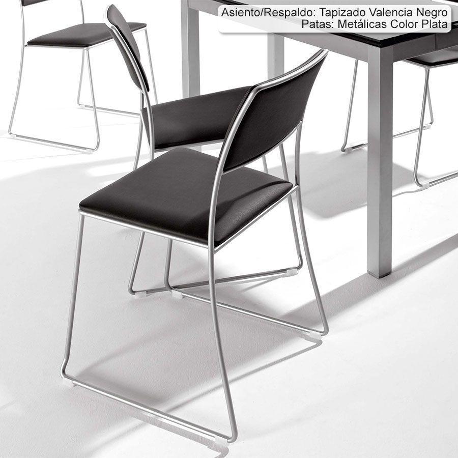 Set 2 sillas de cocina gala bailen sillas de cocina - Bailen mesas y sillas ...