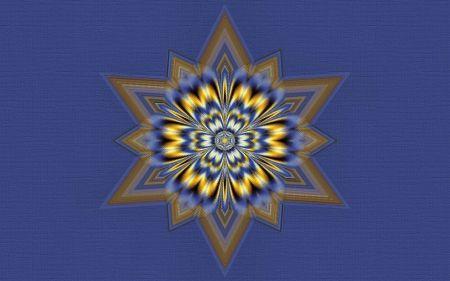 Textured Mandala 1 - texture, artwork, abstract, painting, art, mandala, wide screen