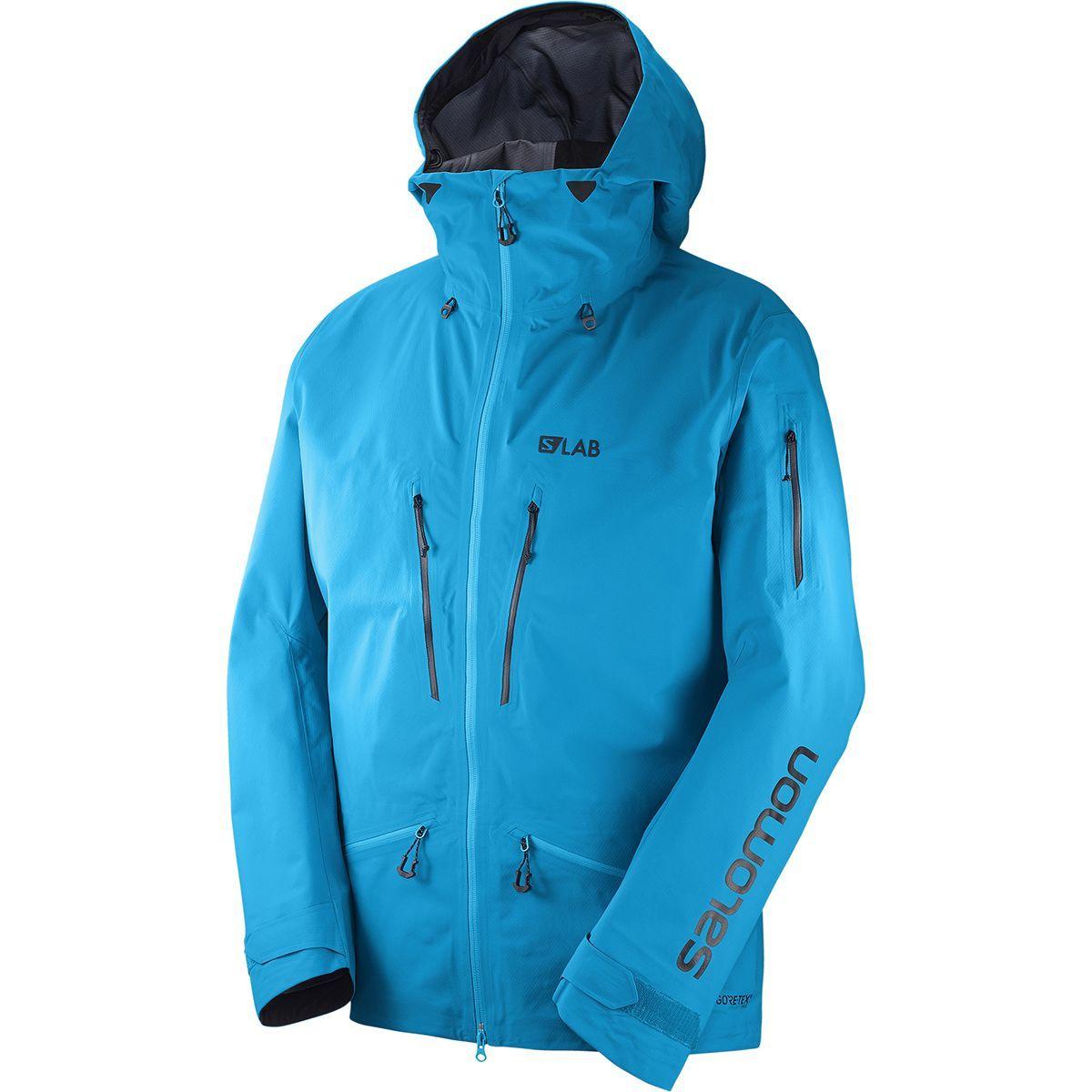 Salomon S-Lab QST GTX Hooded Jacket - Men's | Hooded ...