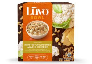 Cruciferous Macaroni Bowls  Luvo's Gluten-Free Macaroni is Blended with Cauliflower Crumbles (hotnewstrend)