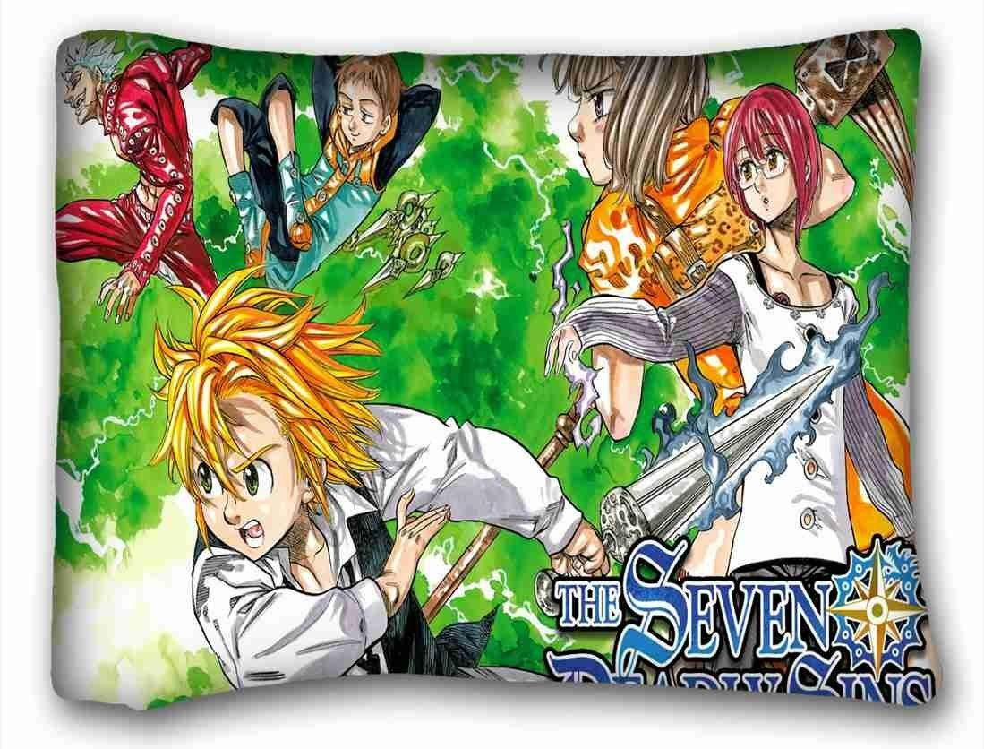 Soft Pillow Case Cover ( Anime The Seven Deadly Sins