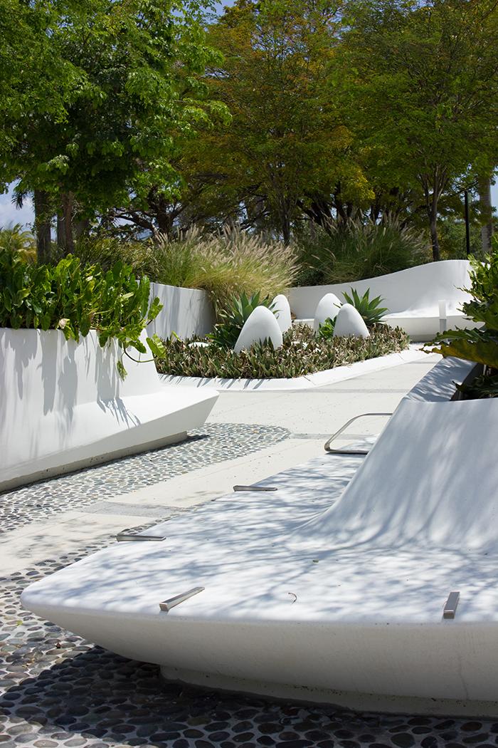 Modern Gardens At Perez Art Museum In Miami