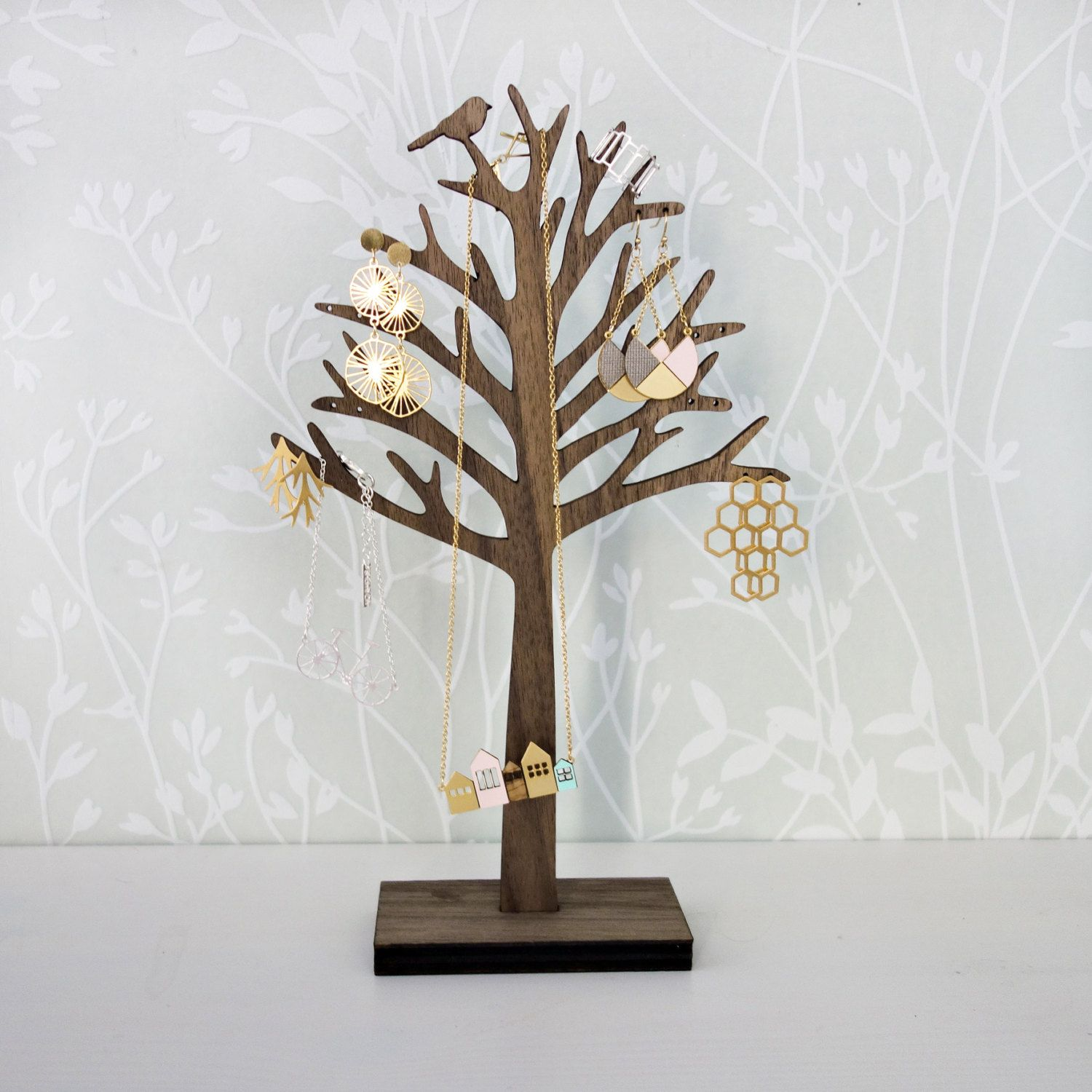 Tree Branch Jewelry Display