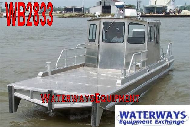 Wb2833 30 Aluminum Work Boat Aluminium Boats For Sale Boat