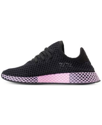 58a2ee7ca870e adidas Women s Deerupt Runner Casual Sneakers from Finish Line - Black 10