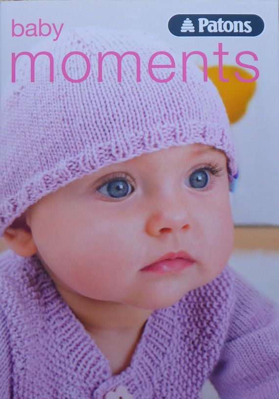Baby Knitting Pattern Pattern Book Baby Moments Knitting Pattern