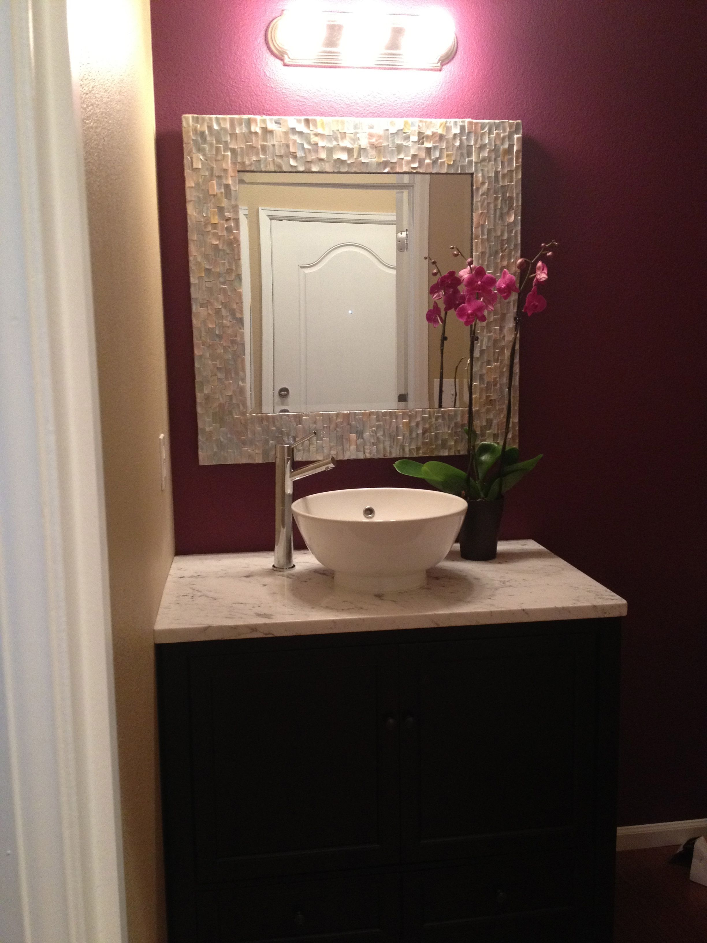 Downstairs Bathroom: Carrera White Marble- Planet Granite Foremost ...