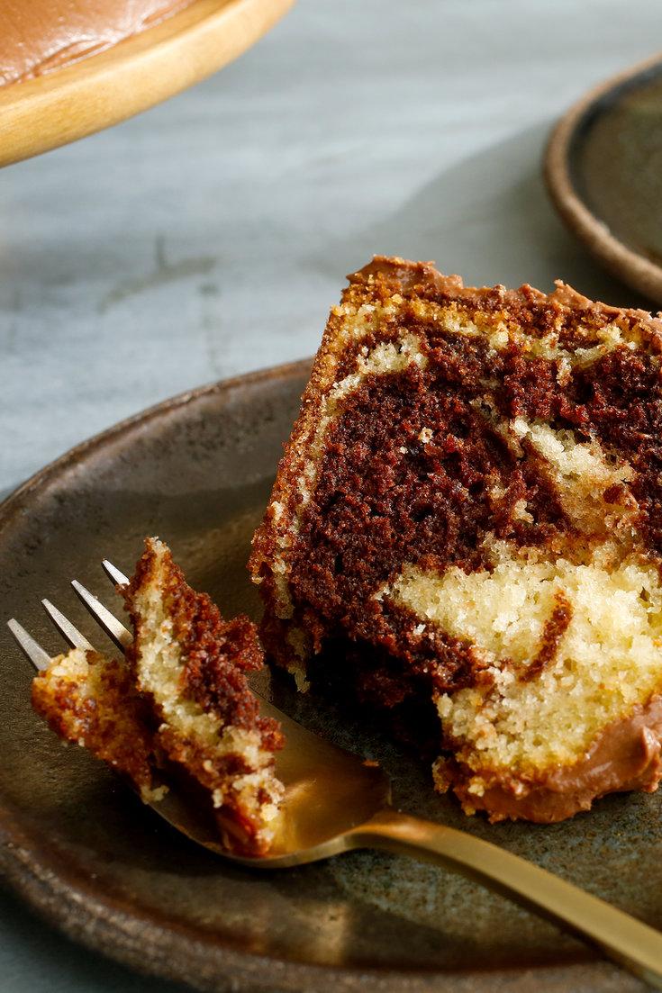 Buttermilk Marble Cake Recipe Marble Cake Recipes Cake Recipes Marble Cake