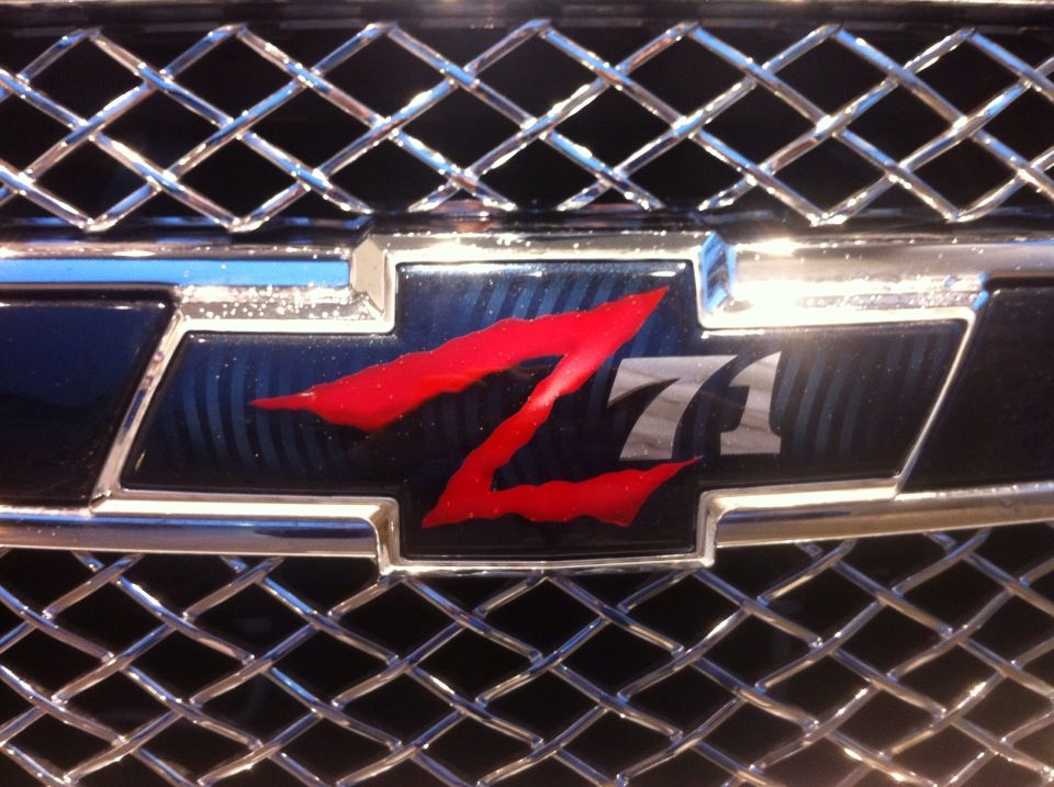 Custom paint Chevy bowtie on a 2013 Tahoe Z71  Chevy  Pinterest