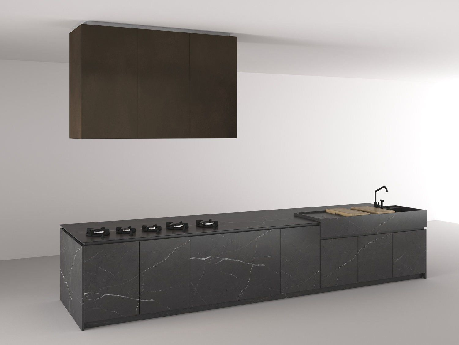 Boffi Code Kitchen By Boffi Fitted Kitchen With Island Design