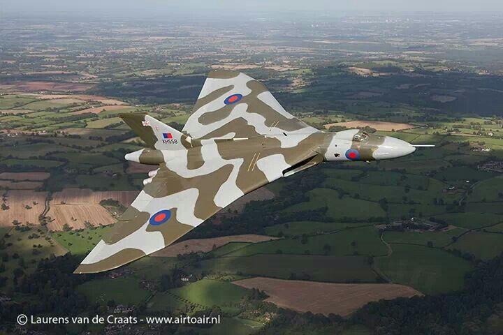 Last remaining flying Avro Vulcan