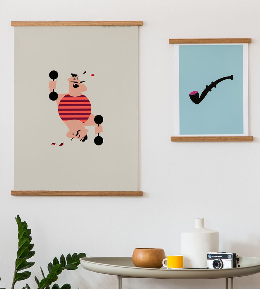 STiiCKs™ Magnetic Poster Frame | Turn any blank wall space into a ...